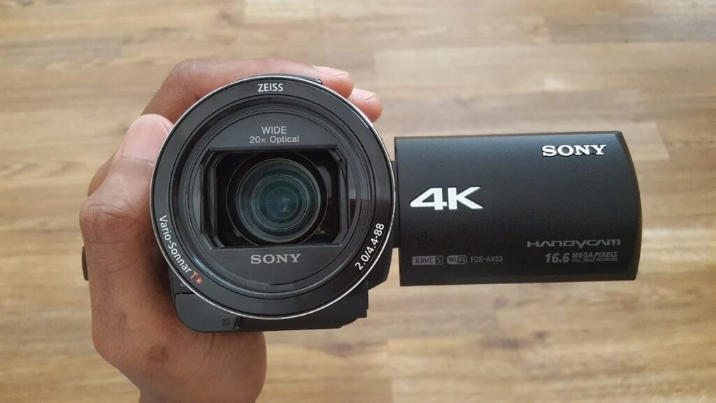 Sony FDR-AX53 4k camcorder Review
