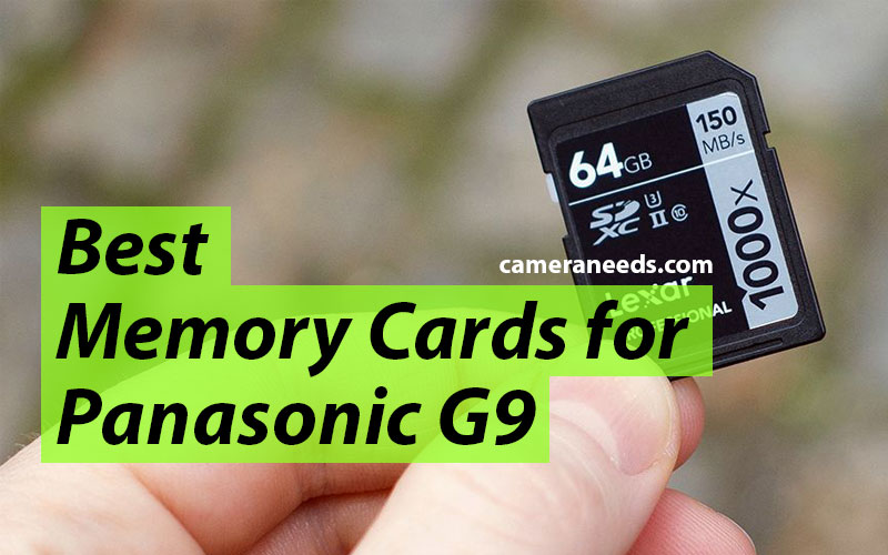 Best Memory Cards for Panasonic G9