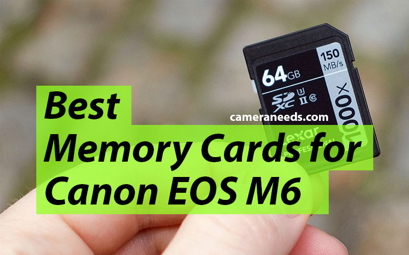 Best Memory Cards for Canon EOS M6