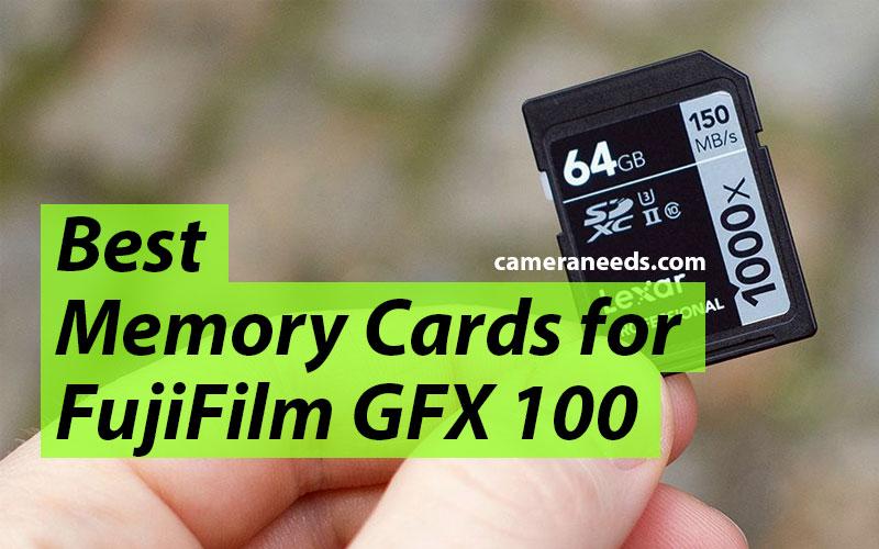 Best Memory Cards for FujiFilm GFX 100