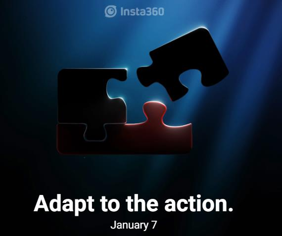 Insta360 ONE R Action Camera Teaser, Official Announcement on January 7 1