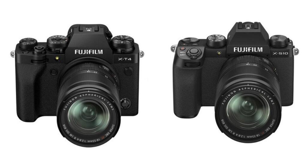 Fujifilm X-T4 vs Fujifilm X-S10 Comparison
