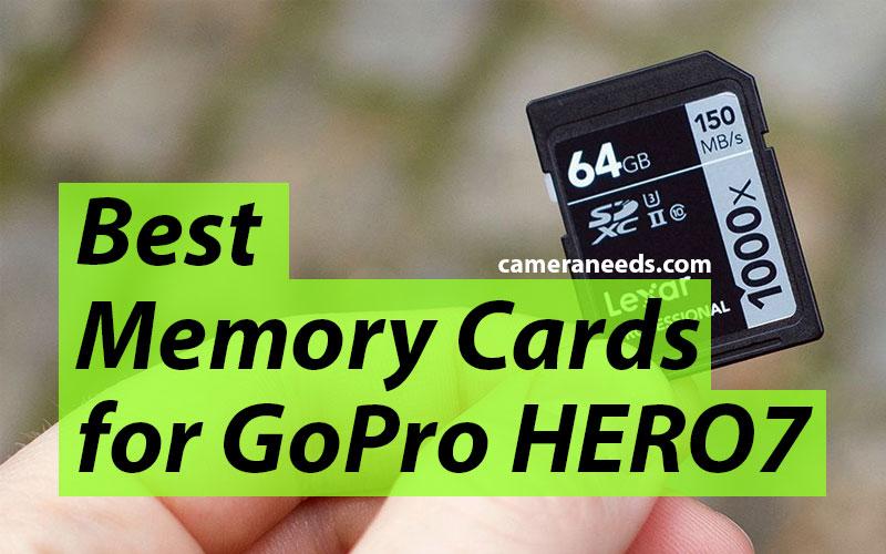 Best Memory Cards for GoPro HERO7 Black
