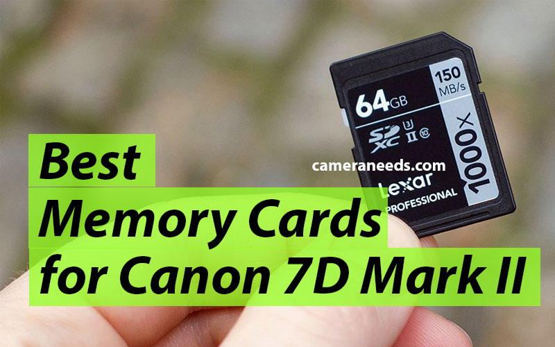 Best Memory Cards for Canon EOS 7D Mark II