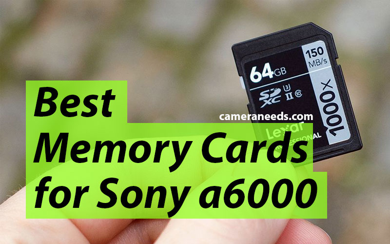 Best Memory Cards for Sony a6000